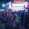 JOED VIERA/STAFF PHOTOGRAPHER-Lockport, NY-   Attendees watch the Light Up Lockport Parade in front of the Palace Theatre.