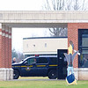 JOED VIERA/STAFF PHOTOGRAPHER-Pendleton, NY-State Troopers outside of Starpoint High School after a lock-out at the school.