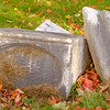 JOED VIERA/STAFF PHOTOGRAPHER-Lockport, NY- The soon to be renovated Whitcher Civil War Monument at Glenwood Cemetary.