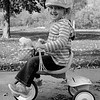 JOED VIERA/STAFF PHOTOGRAPHER-Lockport, NY-Savannah Teaven, 2, rides her tricycle along the Canal bike path.