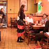 JOED VIERA/STAFF PHOTOGRAPHER-Lockport, NY-Waitress Loriana Ru and celebrates the Day of the Dead by dressing up for her shift at Aguacates on Transit Road.