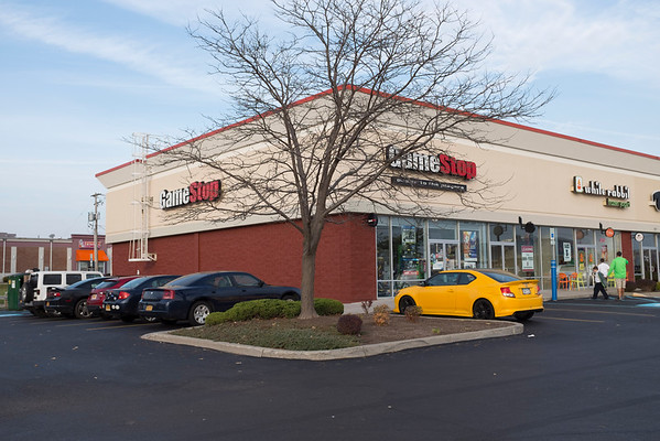 JOED VIERA/STAFF PHOTOGRAPHER-Lockport, NY- This building will be expanded to install a Five Guys.