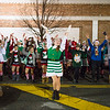 JOED VIERA/STAFF PHOTOGRAPHER-Lockport, NY-    The Dyan Mullvey Dance Academy show off their moves during the Light Up Lockport Parade.