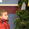 JOED VIERA/STAFF PHOTOGRAPHER-Lockport, NY-   Graeysen Vail, 2, checks out the giving tree at the Lockport Department of Motor Vehicles.