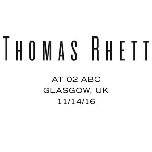 11/14/16 - Glasgow, UK
