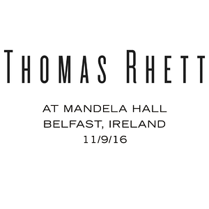 11/9/16 - Belfast, Ireland