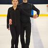 Joed Viera/ Staff Photographer- Lockport, NY-Jocelyn Haines and Jimmy Koszuta on the ice at the Cornerstone Arena.