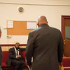 Joed Viera/Staff Photographer Lockport, NY- A meeting takes place at First AME Church on South Street to discuss a fundraising effort to replace the ceiling of the 140-year old structure.