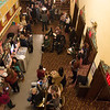 JOED VIERA/STAFF PHOTOGRAPHER-Lockport, NY- Actors prepare for the Beauty and the Beast auditions at the Palace Theatre.