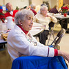Joed Viera/Staff Photographer Lockport, NY-Patty Smith enjoys the holiday celebrations at the Dale Association.