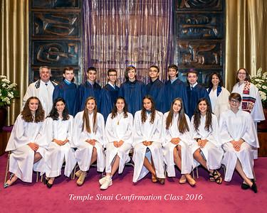 160611 Temple Sinai Confirmation