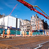Charing Cross Road - D5 Urban Realm work concrete pour
