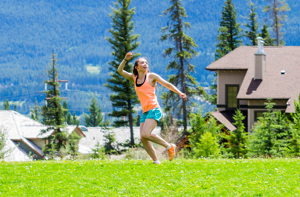 160703 Canmore soccer and frisbee