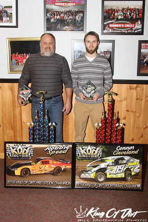January 14, 2017 - KOD Banquet - Winner's Circle - Bill McGaffin