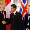 Johann N. Schneider-Ammann, President of the Swiss Confederation (EFTA Chair), and Enrique Peña Nieto,  President of Mexico.
