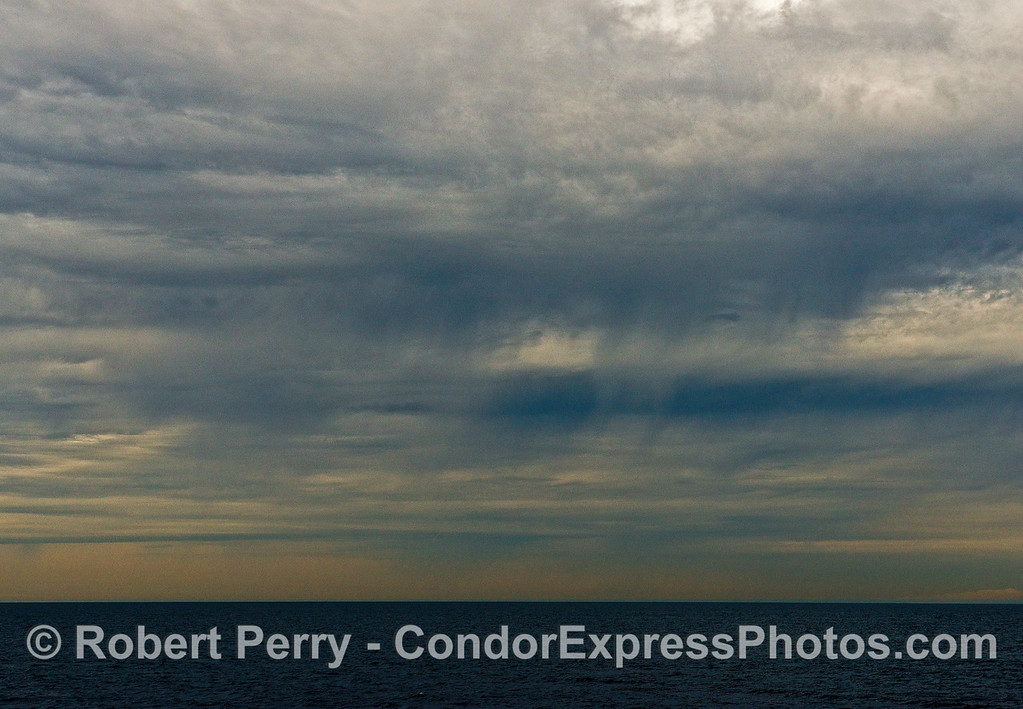 Storm approaches the Channel - virga