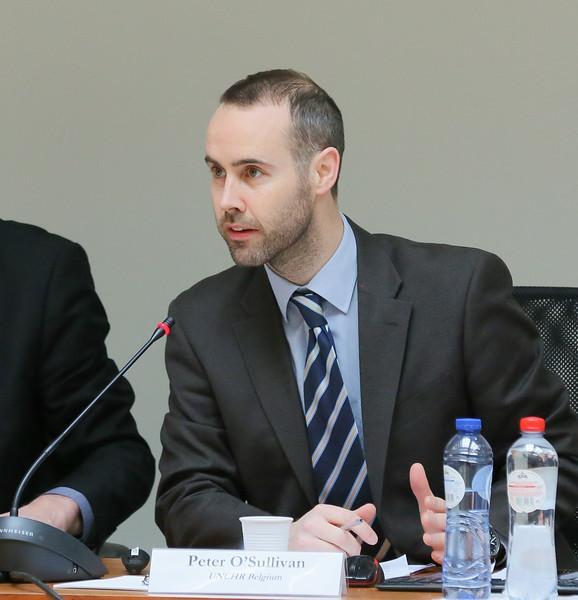 Mr Peter O'Sullivan, Resettlement Officer, United Nations High Commissioner for Refugees, Bureau for Europe