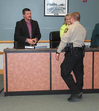 2016-03-17 Officer Longini Swearing In