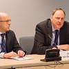 From left: Deputy-Secretary General Dag W. Holter and Secretary-General Kristinn F. Árnason, Secretary-General, EFTA Secretariat