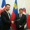 From Left: Mr Martin Eyjólfsson, Ambassador, Iceland; Mr Adrian S. Cristobal Jr., Secretary of the Department of Trade and Industry of the Philippines