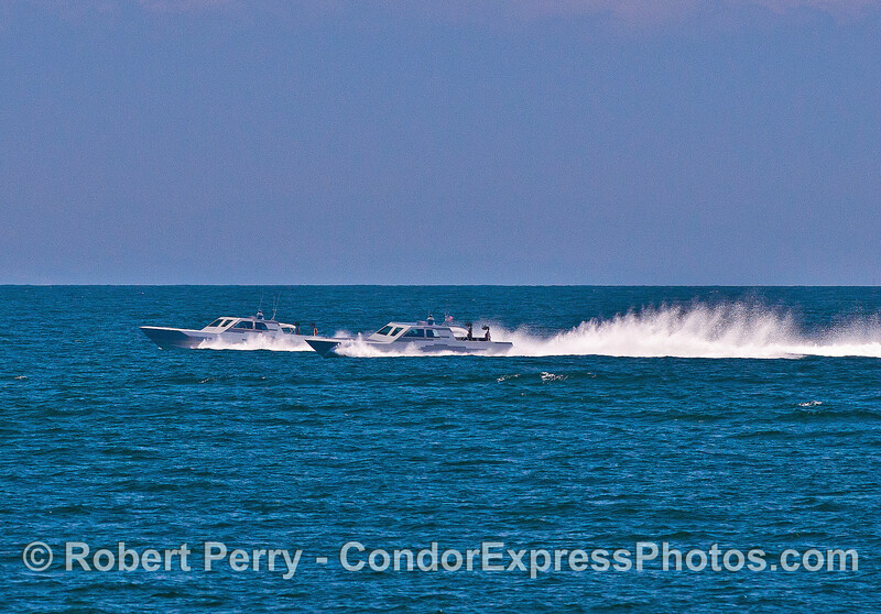 Special ops.   Extremely high speed military craft.