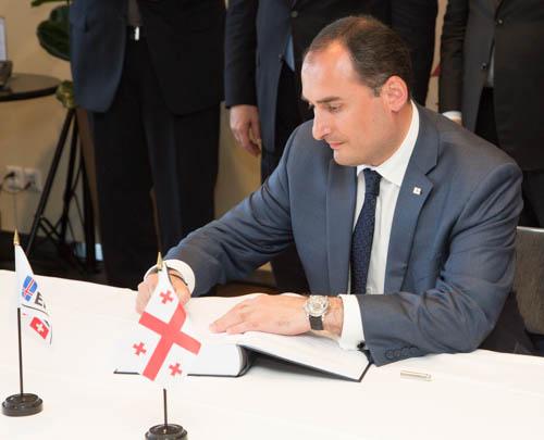 Mr Dimitry Kumsishvili, Vice Prime Minister and Minister of Economy and Sustainable Development, Georgia