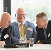 From left: Mr Carl Baudenbacher, President, EFTA Court; Mr Páll Hreinsson, Judge, EFTA Court; Mr Sven Erik Svedman, President, EFTA Surveillance Authority