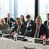 From left: Mr Dag Wernø Holter, Deputy Secretary-General, Brussels, EFTA; Mr Martin Zbinden, Deputy Secretary-General, Geneva, EFTA; Mr Kristinn Árnason, Secretary-General, EFTA; Mr Johann N. Schneider-Ammann, President of Switzerland and Head of the Federal Department of Economic Affairs, Education and Research of Switzerland