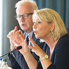 Mr Harald Neple, Ambassador, Norway and Ms Monica Mæland, Minister of Trade and Industry, Norway