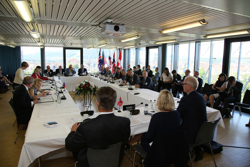 EFTA Ministerial meeting in Bern, Switzlerand, on 27 June 2016
