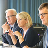 From left: Mr Harald Neple, Ambassador, Norway; Ms Monica Mæland, Minister of Trade and Industry, Norway; Mr Jan Farberg, Director General, Ministry of Trade, Industry and Fisheries, Norway