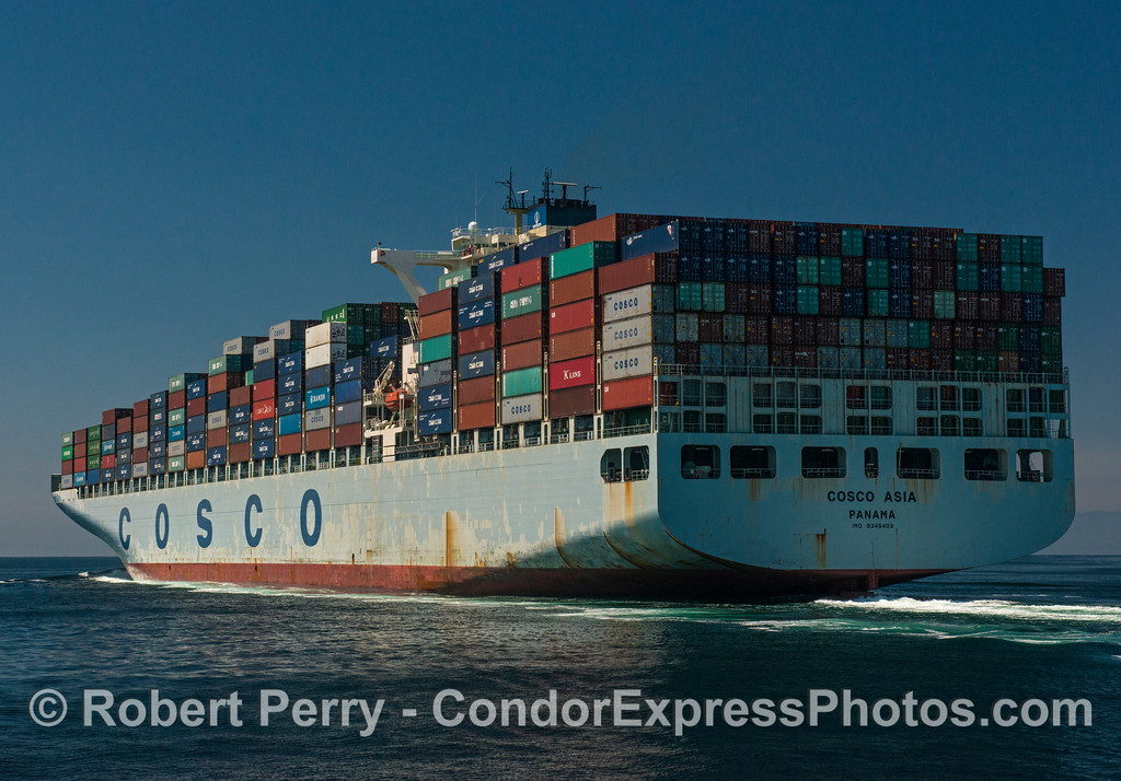 "Container cargo ship ""Cosco Asia"""