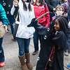 Harry Potter fans on the streets of Chestnut Hill for a now-annual festival celebrating the series.