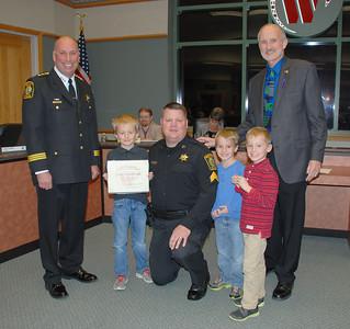 2016-11-10 Police Dept Promotions-Award