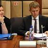 From left: Ms Bergdís Ellertsdóttir, Ambassador, Iceland; Mr Stefán Haukur Jóhannesson, Permanent Secretary of State, Ministry for Foreign Affairs, Iceland.