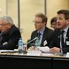 MP Vilhjálmur Bjarnason, Stígur Stefánsson, MP Guðlaugur Þór Þórðarson, Chair of the Parliamentary Committee, at the joint meeting with EFTA Ministers.