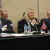 Mr Jan Farberg, Director General, Ministry of Trade, Industry and Fisheries, Norway;  Ms Monica Mæland, Minister of Trade and Industry, Norway; Martin Zbinden, Deputy-Secretary General EFTA Secretariat.