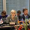 From left: Ms Lilja Alfreðsdóttir, Minister for Foreign Affairs and External Trade, Iceland; Mr Högni Kristjánsson, Ambassador, Permanent Representative, Permanent Mission of Iceland, Geneva