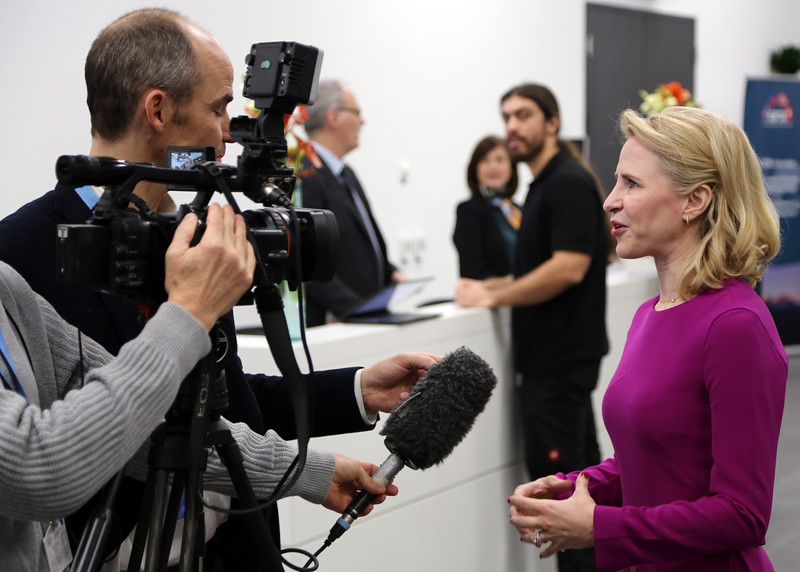 Ms Aurelia Frick, Minister of Foreign Affairs, Liechtenstein.