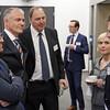 From left: Mr Högni Kristjánsson, Ambassador, Permanent Representative, Permanent Mission of Iceland, Geneva; Mr Aðalsteinn Leifsson, Director, Secretary-General's Office, EFTA; Mr Kristinn Árnason, Secretary-General, EFTA; Ms Lilja Alfreðsdóttir, Minister for Foreign Affairs and External Trade, Iceland;  Mr Guðlaugur Þór Þórðarson, EFTA Parliamentary Committee