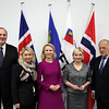 From left: Mr Kristinn Árnason, Secretary-General, EFTA; Ms Monica Mæland, Minister of Trade and Industry, Norway; Ms Aurelia Frick, Minister of Foreign Affairs, Liechtenstein; Ms Lilja Alfreðsdóttir, Minister for Foreign Affairs and External Trade, Iceland; Mr Johann N. Schneider-Ammann, President of Switzerland and Head of the Federal Department of Economic Affairs, Education and Research of Switzerland.