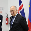 From left: Mr Georges Baur, Assistant Secretary-General, EFTA; Mr Johann N. Schneider-Ammann, President of the Confederation, Head of the 	Federal Department of Economic Affairs, Education and Research of Switzerland.