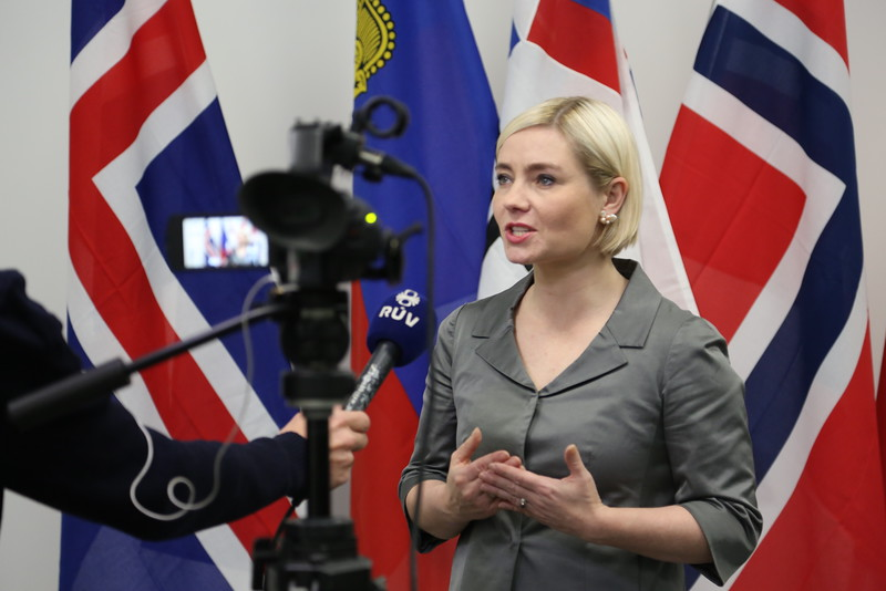 Ms Lilja Alfreðsdóttir, Minister for Foreign Affairs and External Trade, Iceland