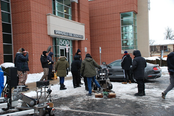 2016-12-16 Chicago Fire TV Show Production