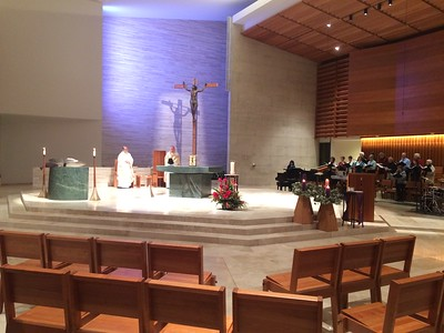 We celebrated our anniversary of dedication with Mass at 8:15am and 7:00pm.