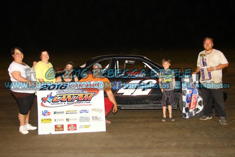 Robinson, Lyle Thunder Car win - 2