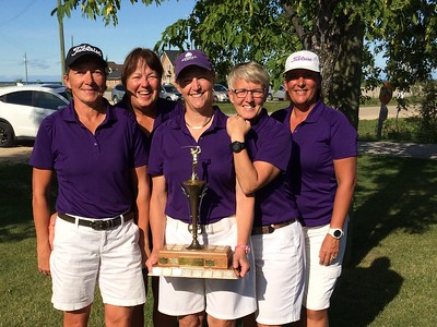 2017 Women's Interclub A - Gross Champions