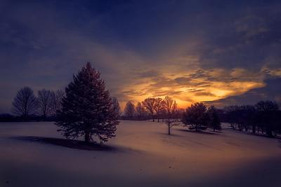 DA065,DN,Winter sunrise
