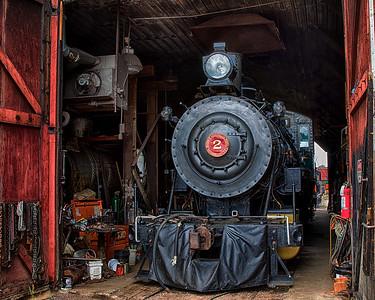 DA061,DT, Train Museum, North Freedom Wi
