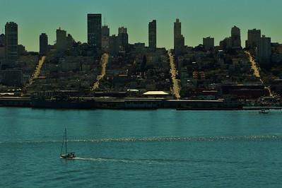 DB096, DT, Alcatraz view SF